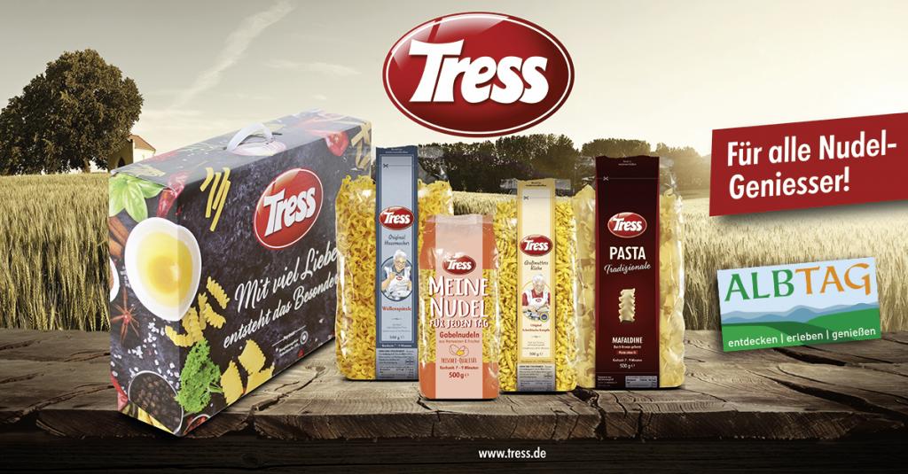 TRESS Genießerset - ALBTAG Gewinnspiel